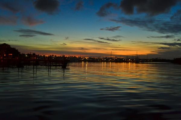 Homestead Bayfront Sunset