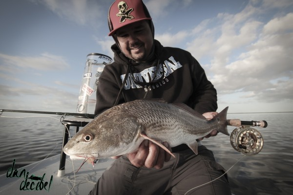 cold redfish is a happy redfish