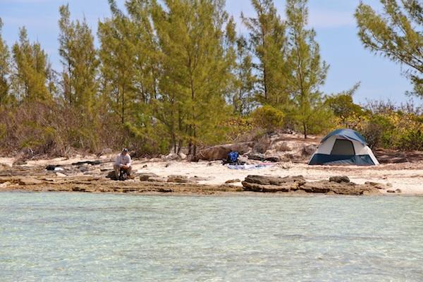 beach campsm